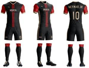 Football Jersey Design Template by Soocer Kit Jersey Builder Template