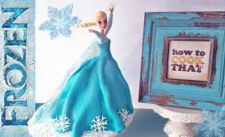 frozen elsa princess cake how to cook that elsa doll cake ann reardon youtube