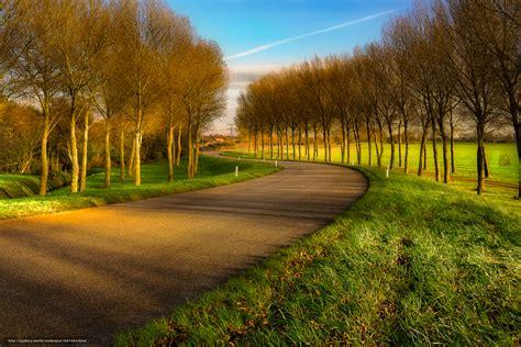imagenes de paisajes sin editar tlcharger fond d ecran route arbres domaine paysage