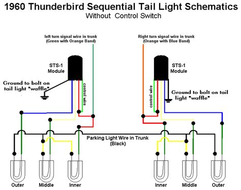 sequential light wiring diagram get free image