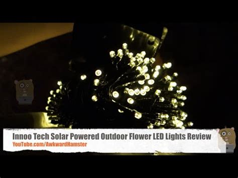 innoo tech solar 200 led warm christmas lights review