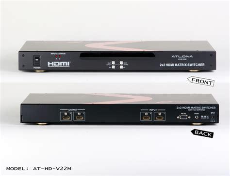 Harga Kabel Matrix harga jual 2x2 atlona hdmi matrix switch