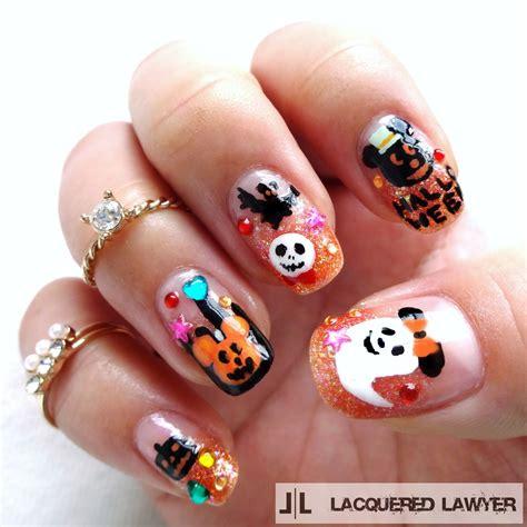 Nägel Lackieren Tricks by Lacquered Lawyer Nail Art Blog Disney Halloween