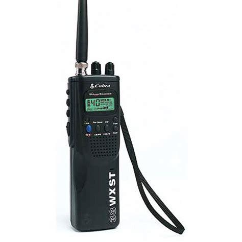 best cobra cb radio cobra handheld cb radio w 10 weather channels walmart