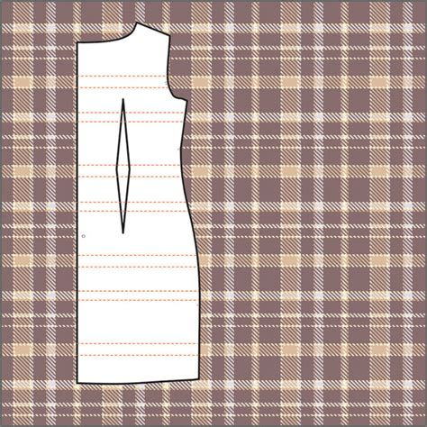 drawing pattern on fabric how to match plaids stripes and large patterns