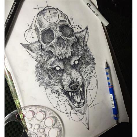 animal tattoo instagram artwork design wolf tattoo on instagram inked