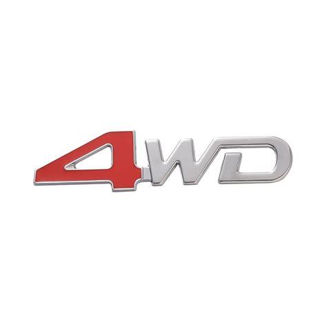 Klikoto Logo 4wd Emblem 2 Pcs logo 4wd promotion achetez des logo 4wd promotionnels sur