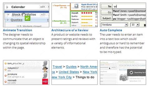 yahoo design pattern library stencils 6个免费的界面设计创意 open开源论坛
