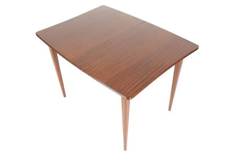 solid mahogany butterfly leaf dining table by meredew at