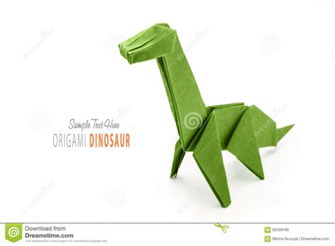 Origami Dinosaur Brontosaurus - origami dinosaur brontosaurus gallery craft decoration ideas