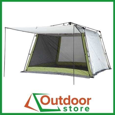 coleman pop up awning coleman instant up screenhouse with awnings pop up screen