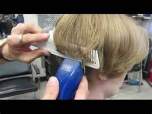 getting clipper haircuts casandra s short clipper haircut buzz video youtube