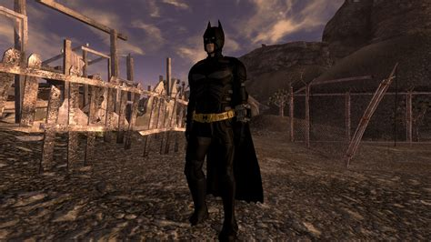 fallout new vegas best mods batman suit and suit and batcave at fallout new