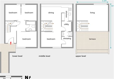 Home Floor Plan alexandra road modern architecture london