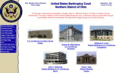 Ohio Bankruptcy Court Records Chapter 13