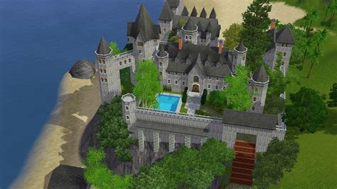 Awesome House Blueprints sims 3 castle by ramborocky on deviantart