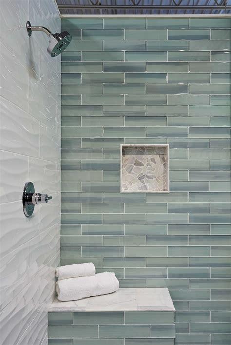 tile on wall in bathroom bathroom shower wall tile new glass subway tile