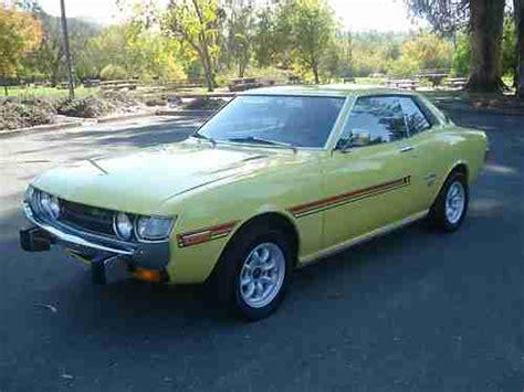 1973 Toyota Celica For Sale Find Used 1973 Toyota Celica In Vallejo California