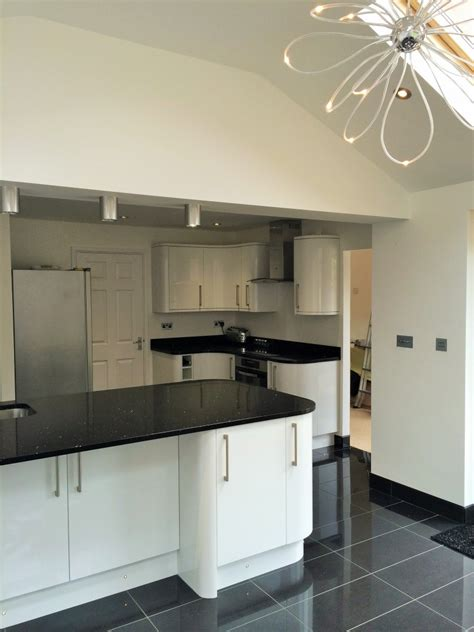 new fitted kitchen in the new extension kitchen diner layout ideas pinterest fitted rear extension and new kitchen luton 2014 t construction