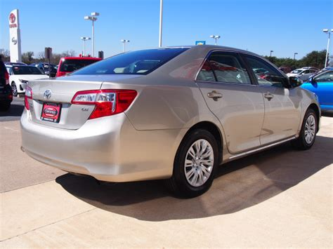 Toyota Camry Creme Brulee 2014 Creme Brulee Mica Toyota Camry Sedans Theeagle