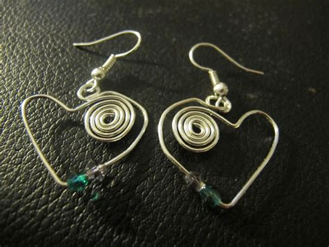 Handmade Wire Earrings Designs - s designs handmade wire jewelry new funky wire