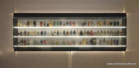 toys display cabinet custom display holds the complete first run of star wars