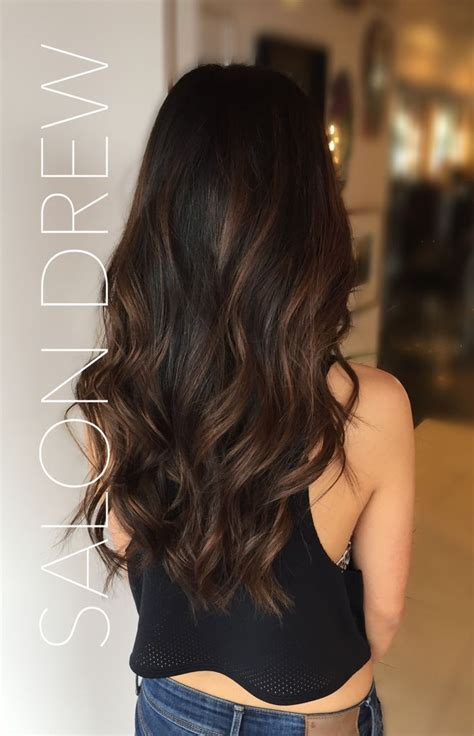 Gallery Of Brown Highlight Colors For Black Hair Best Hair Color
