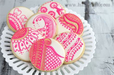 henna design biscuits uk haniela s henna cookies pattern templates
