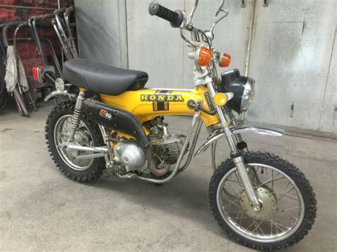 1974 honda st90 quot k1 quot sport trail 90 motorcycle low
