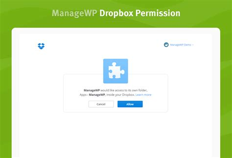 dropbox not connecting backup to external destinations is now in orion managewp