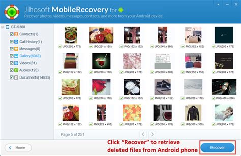 restore deleted photos android forum samsung developers