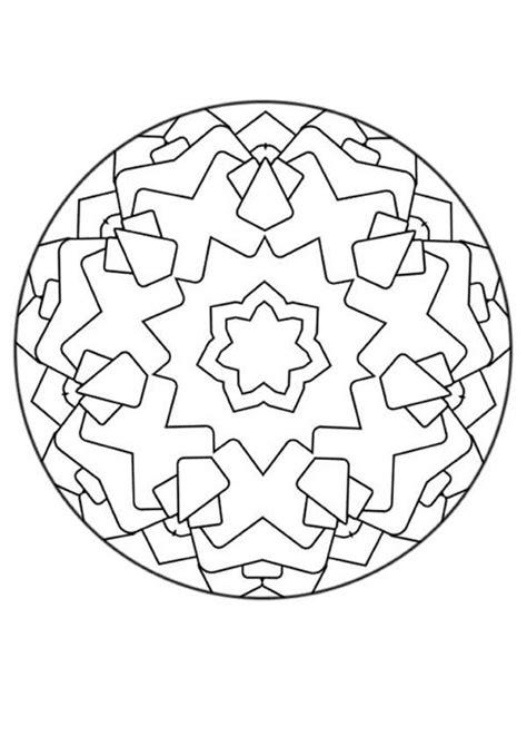 mandala coloring pages for beginners mandalas for beginners mandala 136