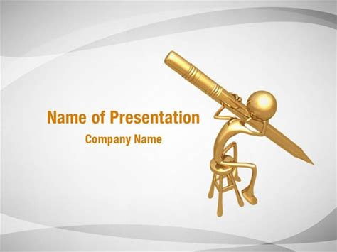 writing powerpoint template writing pen powerpoint templates writing pen powerpoint
