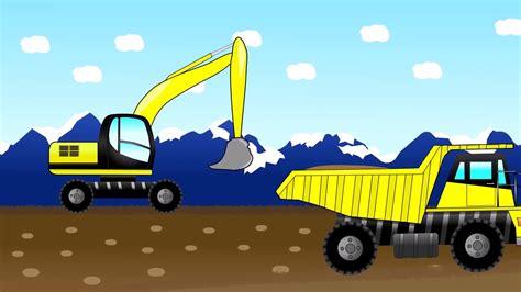 Mainan Anak Truk Keruk Mb152 gambar mobil truk animasi