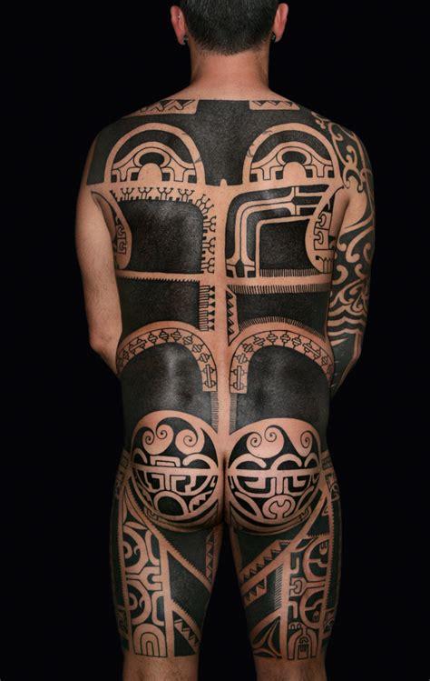 marquesan tattoo patutiki inspiration by nazareno tubaro tatau