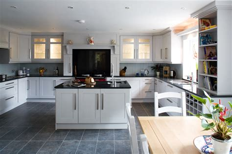 White Kitchen Cabinet Reviews bright frieling press in kitchen transitional with