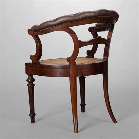 Armchair Desk by 19th Century Mahogany Desk Armchair For Sale At 1stdibs