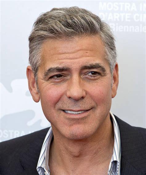 older men hairstyles 60 70 years old george clooney hairstyles in 2018