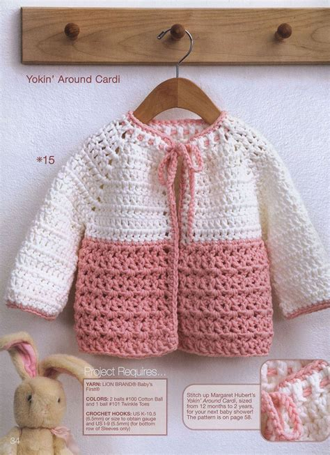 crochet sweater pattern 2 year old yoke toddler crochet cardigan pattern for ages 12 months