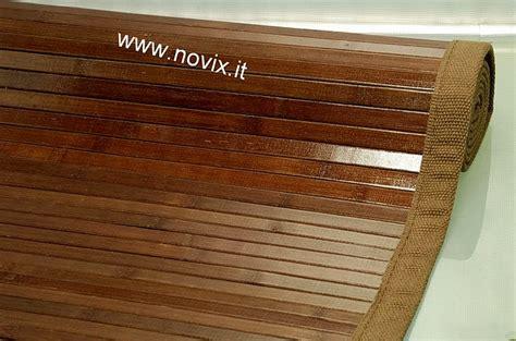 tappeto in bambu tappeto bamb 217 140x200 cm marrone