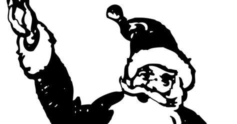 imagenes de santa claus en blanco y negro imagenes sin copyright dibujo de pap 225 noel en blanco y negro