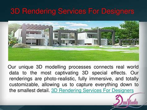 facilities layout ppt render ppt architectural rendering service powerpoint