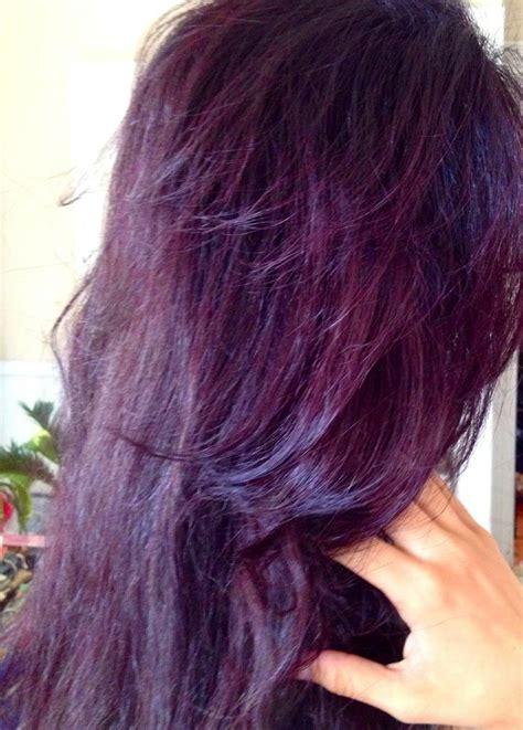 burgundy plum hair color best 25 burgundy plum hair ideas on plum hair
