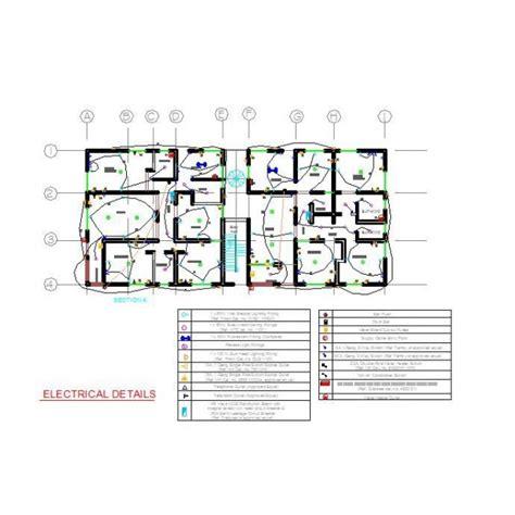electrical layout plan free download apartment block electrical plan cad dwg cadblocksfree