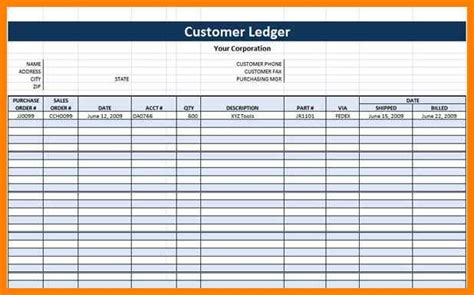 7 Free Printable General Ledger Template Points Of Origins General Ledger Template Excel