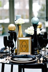 black gold wedding decorations white wall black and gold