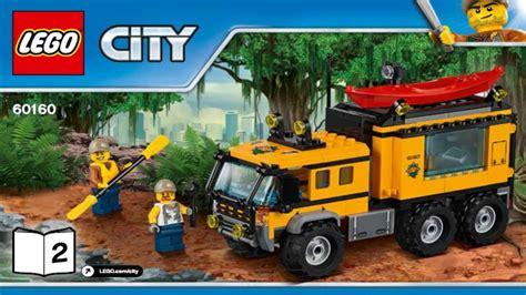 Lego City 60160 Jungle Mobile Lab lego city jungle explorers 2017 jungle mobile lab 60160 2