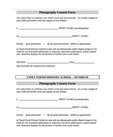 consent to photograph template sle photography consent form 9 free documents