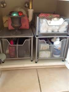 Bathroom Under Sink Storage by O Is For Organize Under The Bathroom Sink