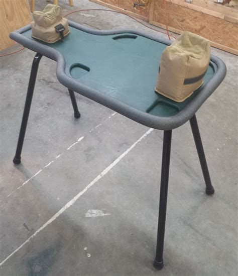 25 best ideas about portable shooting bench on